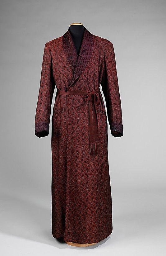 Dressing Gown 1925 1935 The Metropolitan Museum Of Art Gowns Dresses Mens Dressing Gown Silk Dressing Gown