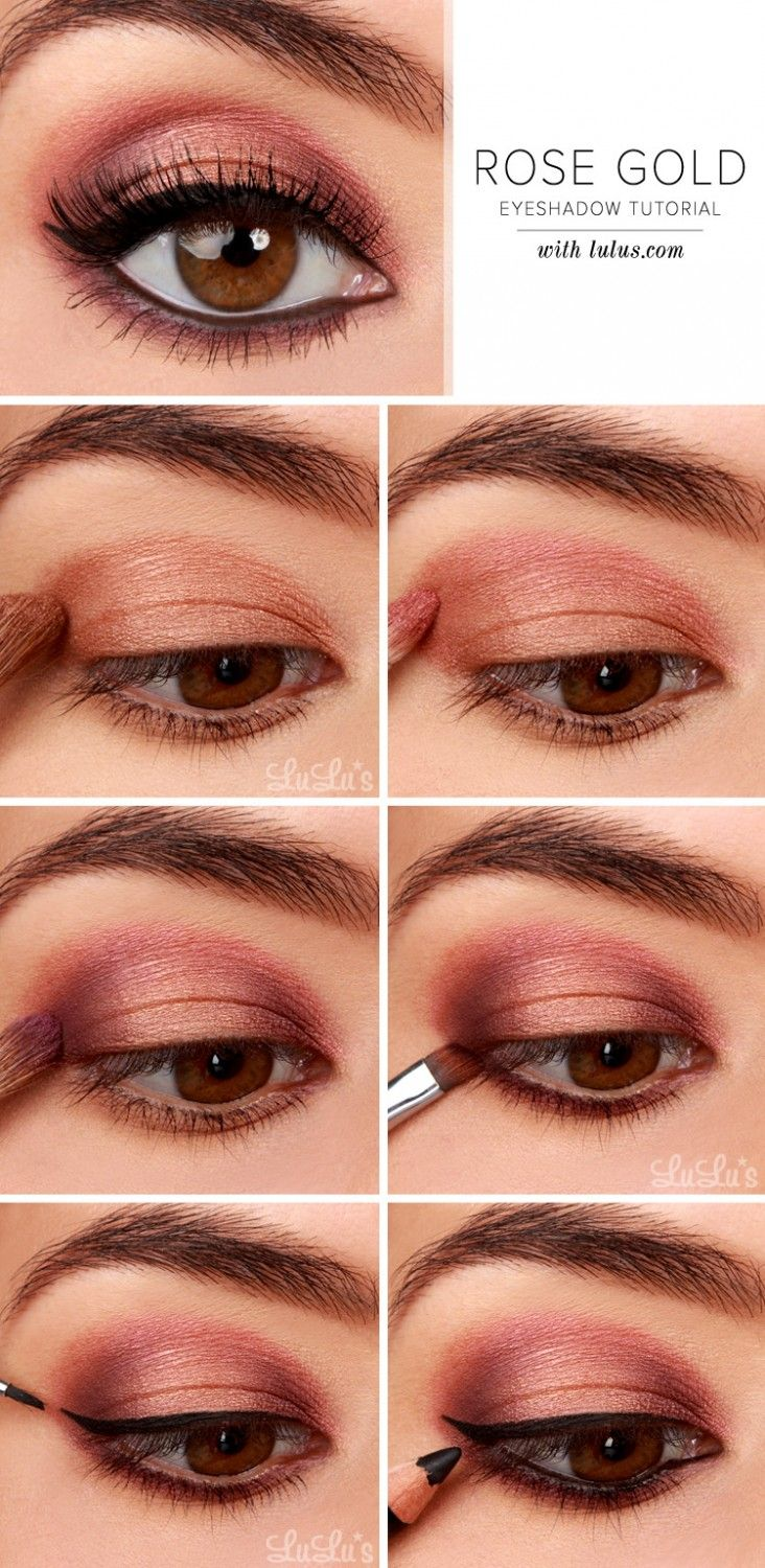 gorgeous & easy makeup tutorials for brown eyes | make up