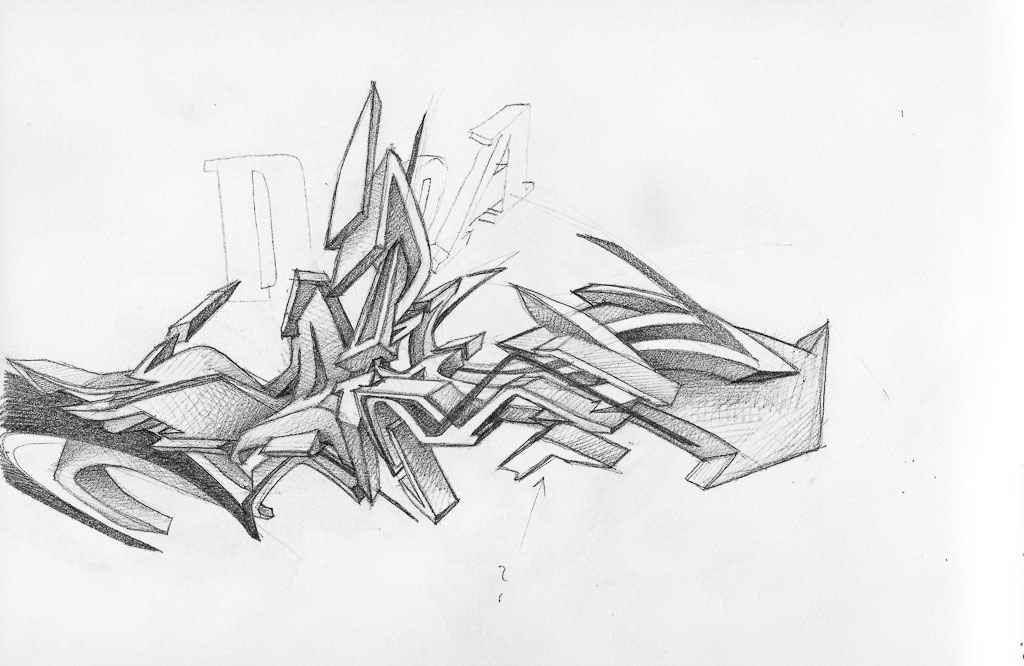 Permanent Sketch Book: Permanent Link To : Graffiti Artists Daim