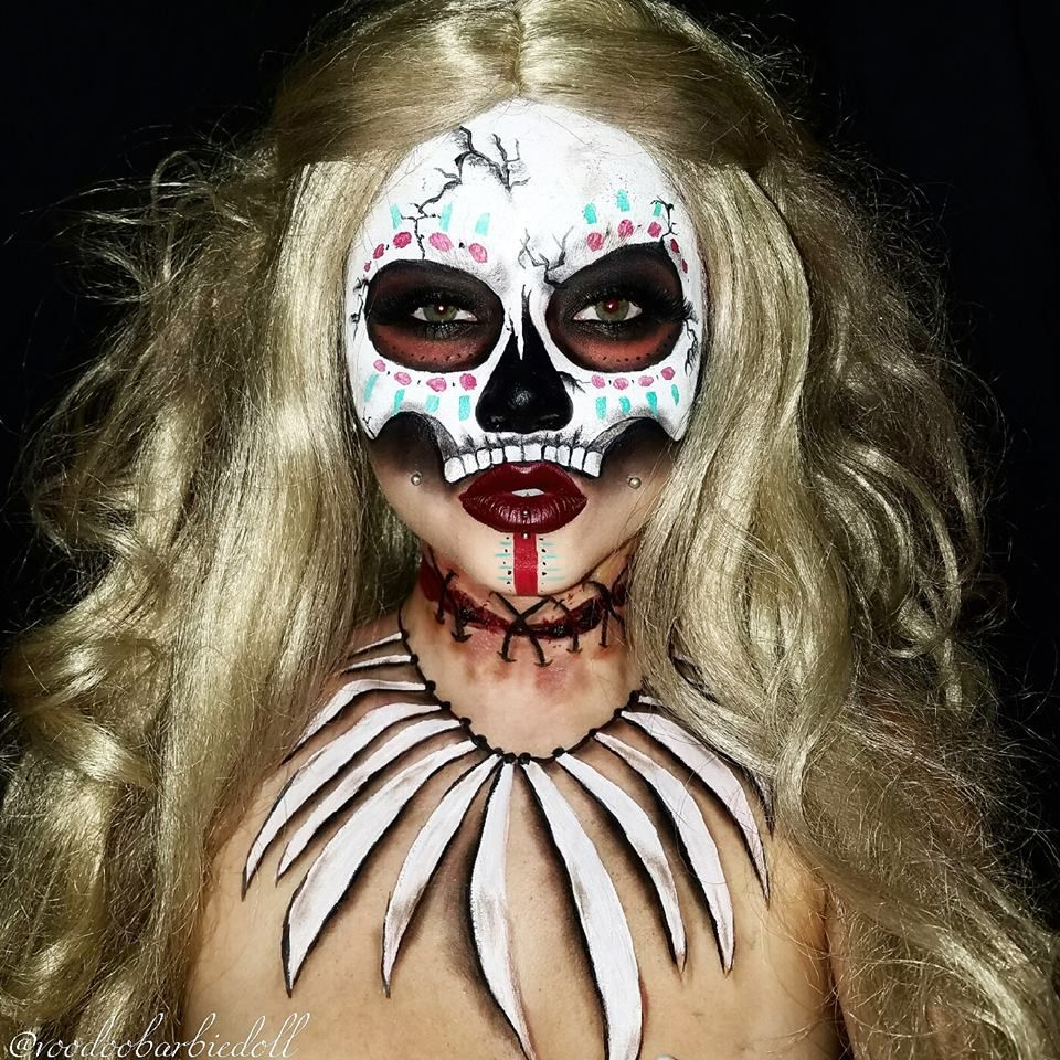 Witch doctor youtubesydneynicolethecatsmeow ig witch halloween makeup ideas with tutorials a diy projects baditri Images
