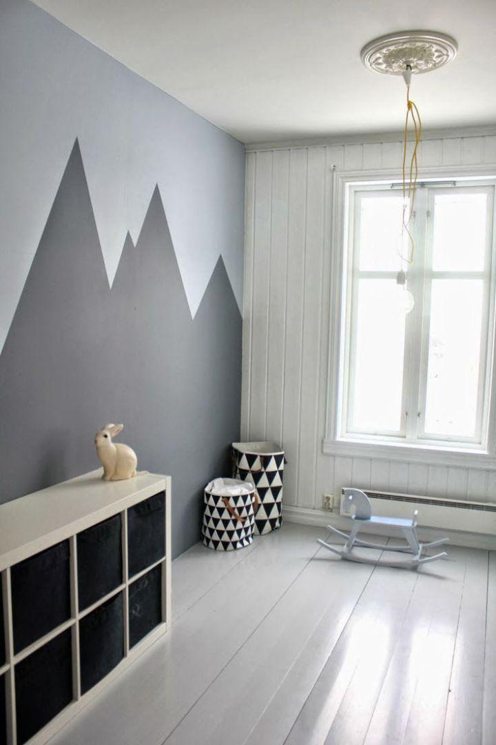 Una Mano Di Bianco O Camera Bambini Pareti Pittura