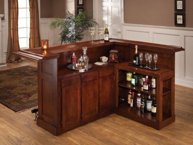 Custom Home Bar Plans | Home Bar Design | Man Cave Bars