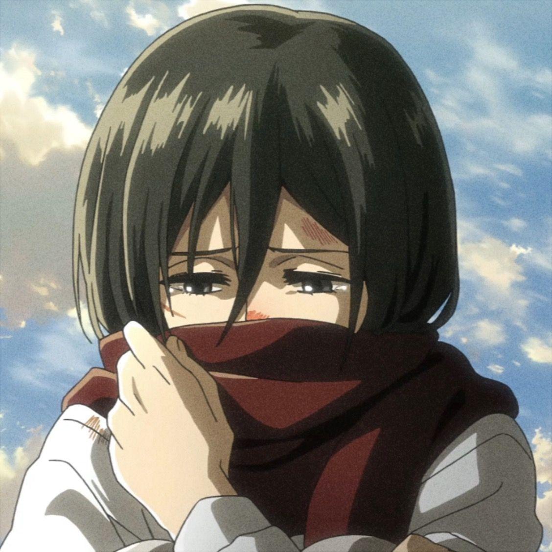 Mikasa Ackerman 𝒾𝒸𝑜𝓃 ★🌙 in 2020 Mikasa, Attack on