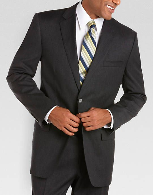 Joseph & Feiss Gold Trio Classic Fit Suit,Charcoal - Men's ...