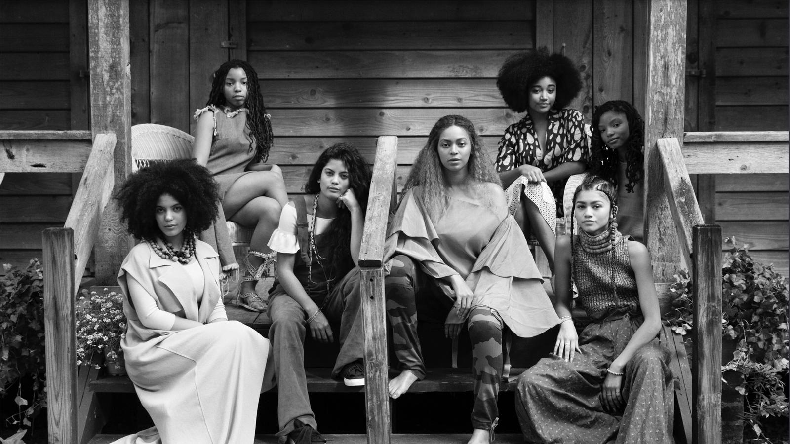 Beyonce Lemonade Feature Film Black & White Screenshot