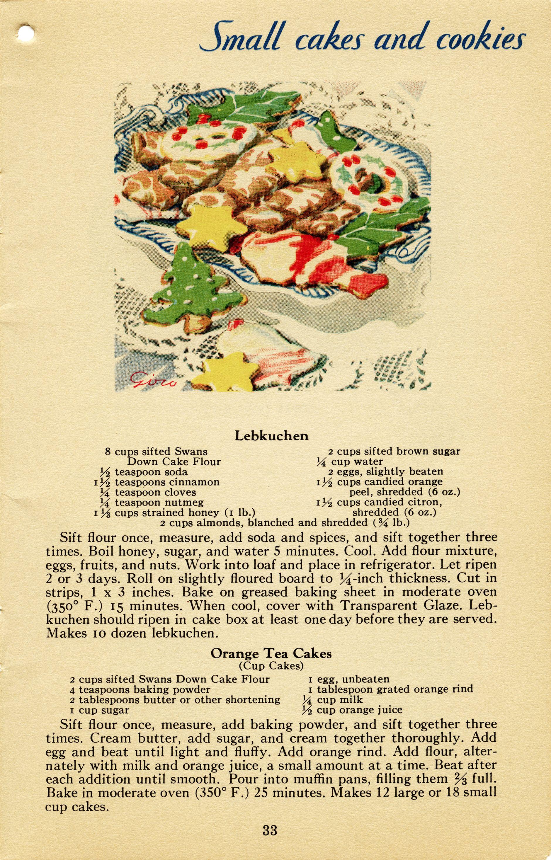 Orange Tea Cakes Christmas Baking Clip Art Baked Goods