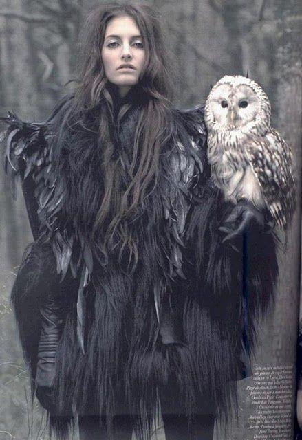 Vogue Paris Owl
