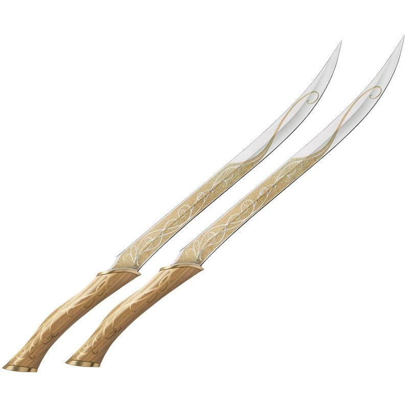 Fighting Knives of Legolas Lord of the Rings Officially ...