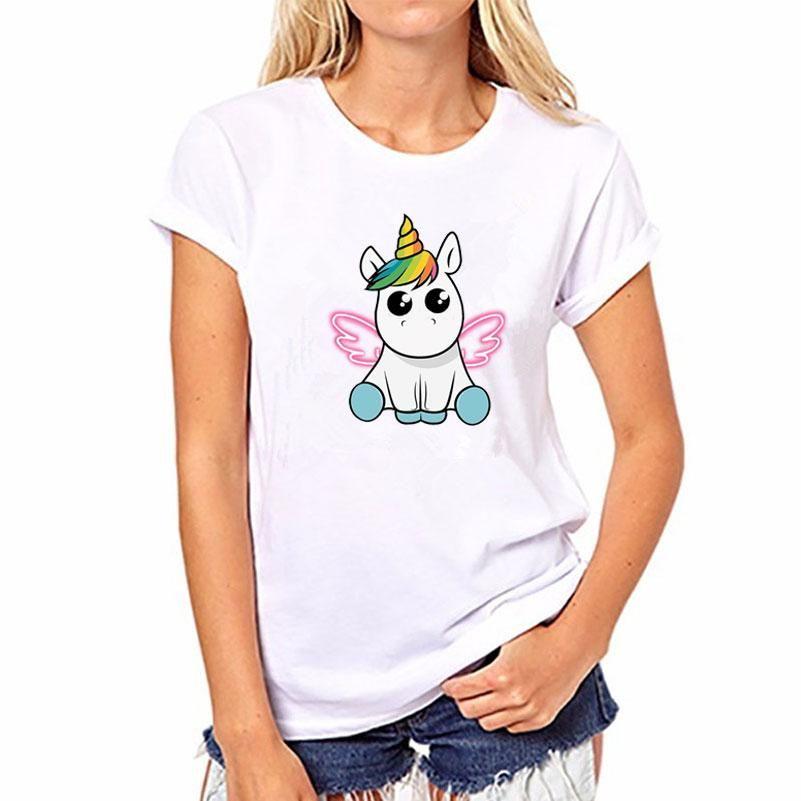estilo actualizado selección premium baratas para la venta Unicorn Angel en 2019 | CAMISETAS | Camiseta unicornio ...