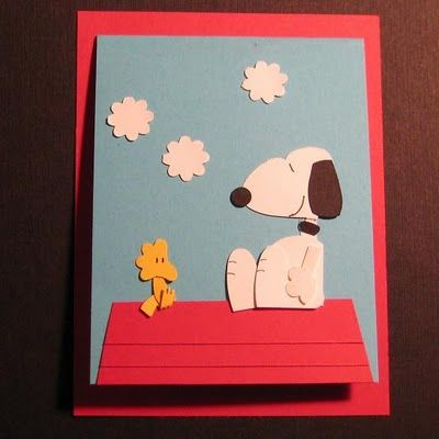 Snoopy punch art