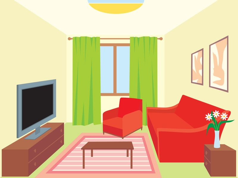 Daily Cleaning Tips And Tricks For The Living Room Living Room Vector Living Room Clipart Living Room Images