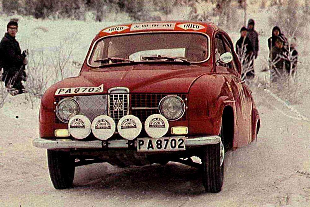 1968 Rajd Szwecji (Tom Trana) Saab