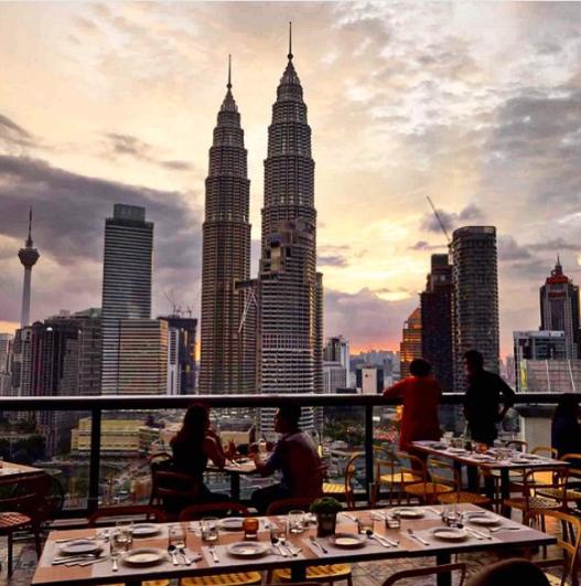 Fuego At Troika Sky Dining Kuala Lumpur Malasya