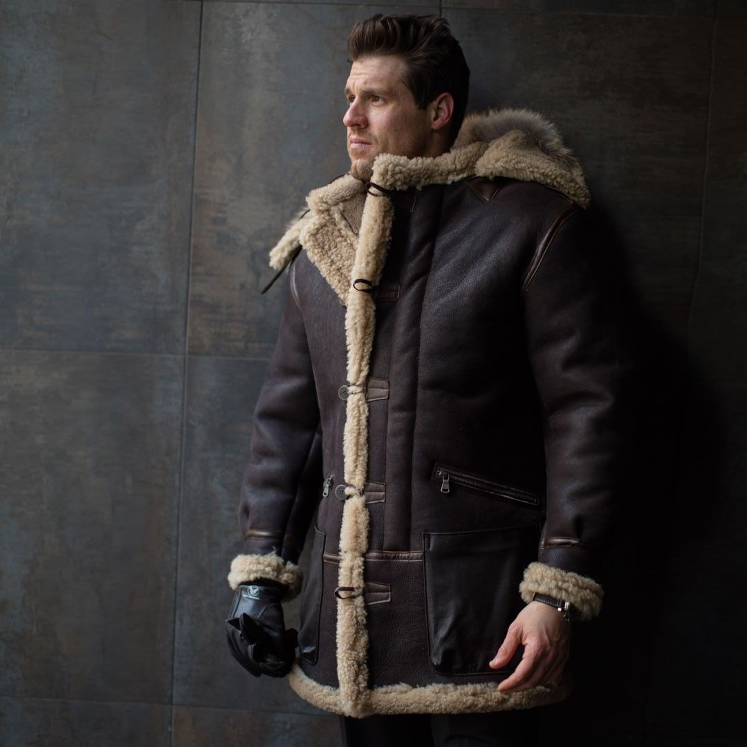 Coole Jacken Man In Aleutian Wwii Sheepskin Parka Men 39s Jackets And