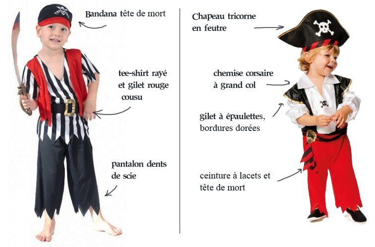 Pirate des caraïbes Capitaine Hat Enfants Garçons Smiffys Costume Robe Fantaisie Accessoire
