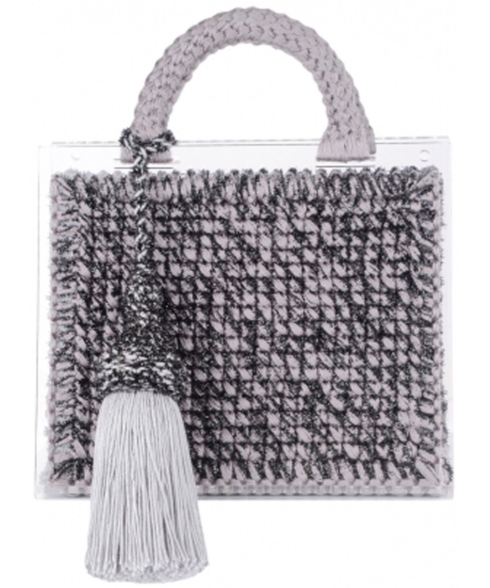 St. Barts large woven handbag - Metallic 0711 ScRhVDEx
