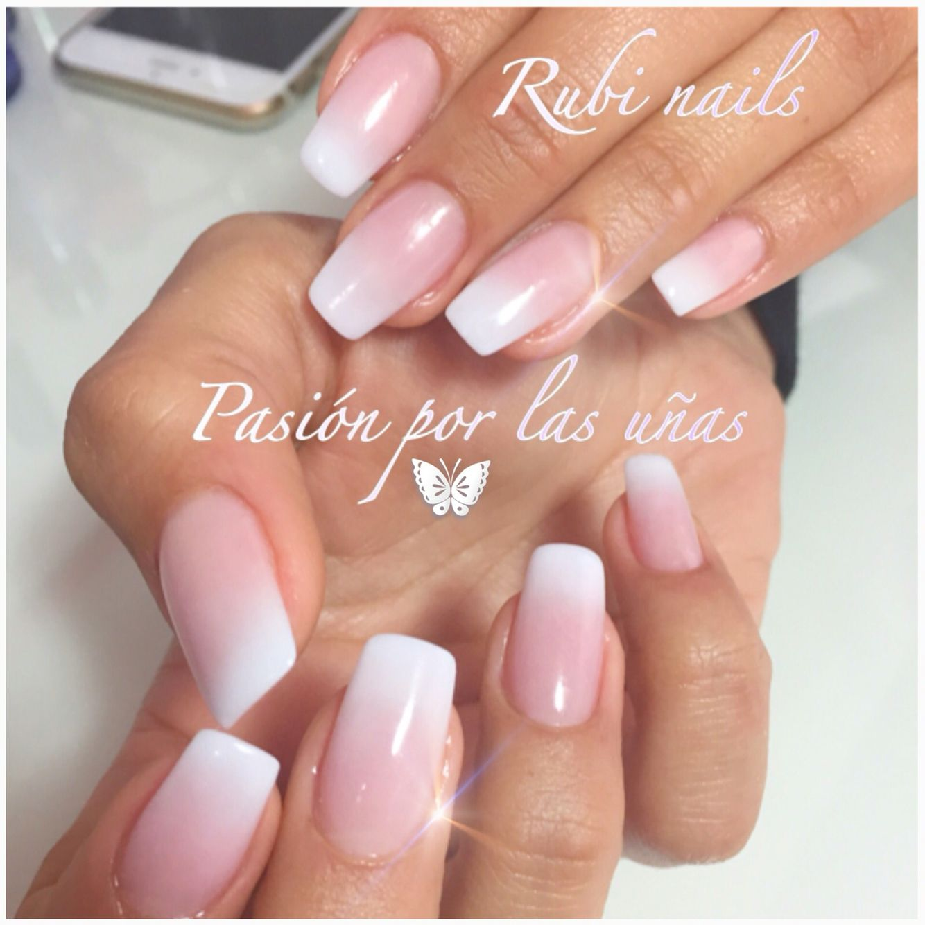 Coffin nails ombre look or baby boomer. | Nails | Pinterest ...