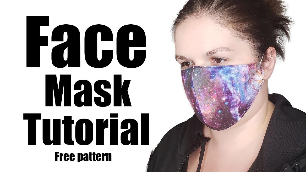 N95 Style Full Face Mask Sewing Tutorial Youtube In 2020 Face