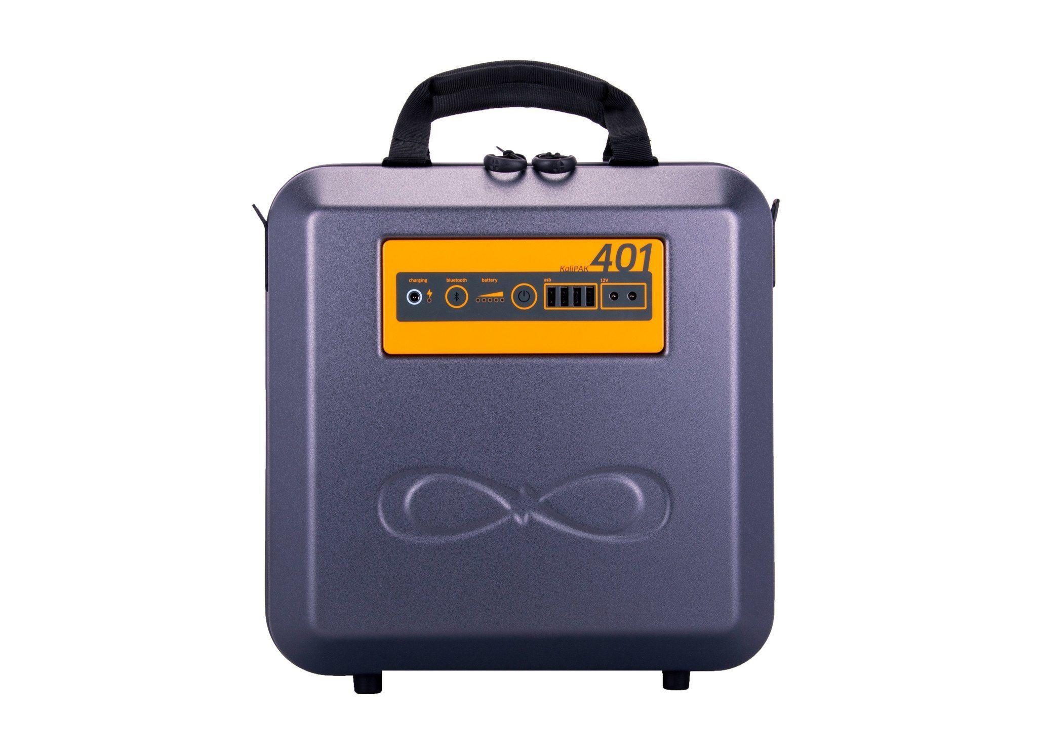 kalisaya kp401 kalipak 384 watt hour portable solar generator system