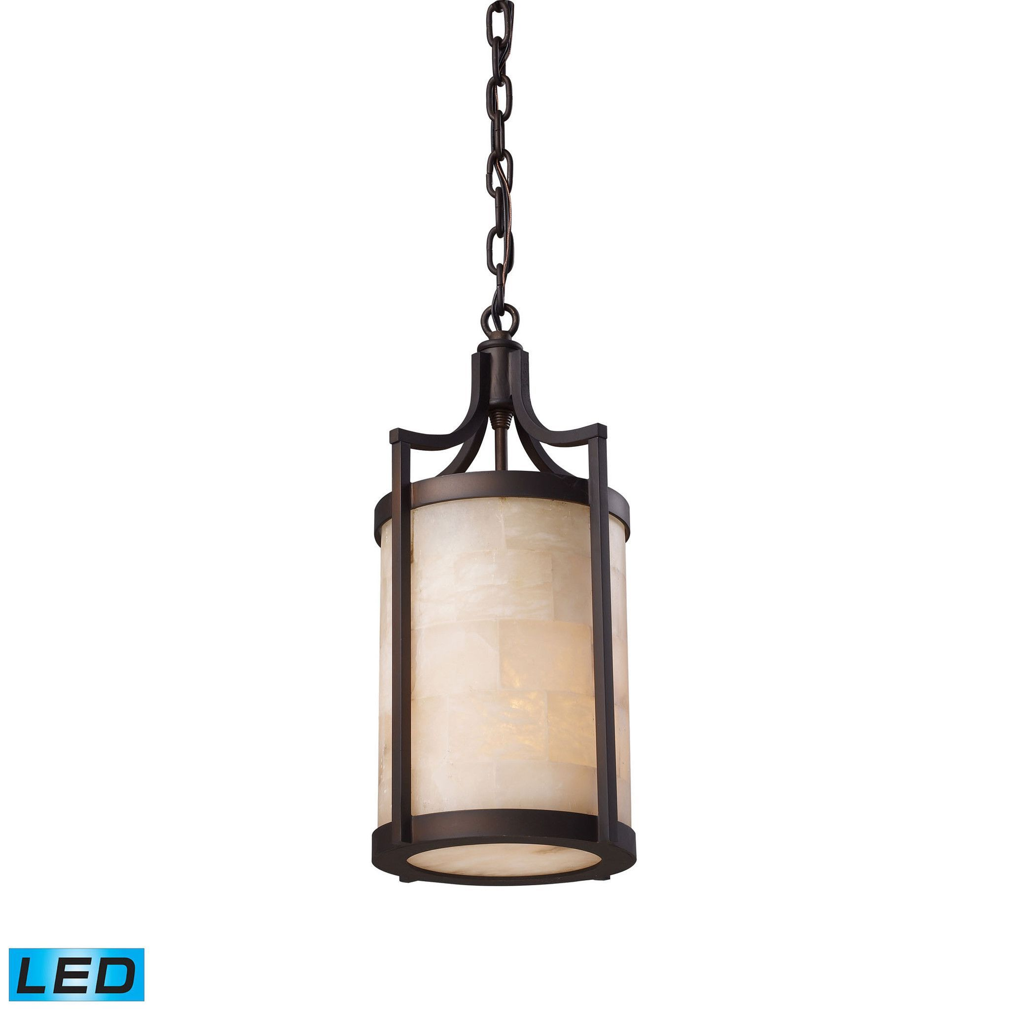 ELK Lighting 19000/1-LED Spanish Mosaic Collection Aged Bronze Finish