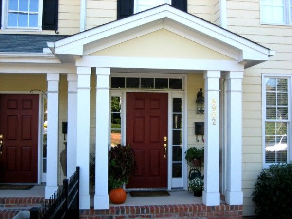 Preferred columns in style similar to this for front porch | Home  SV64
