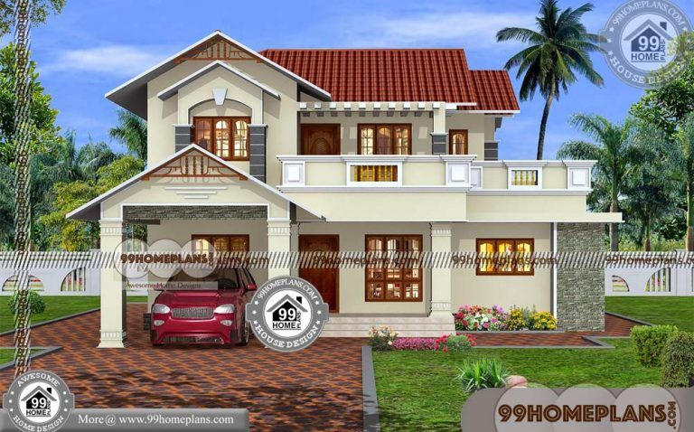 2000 Sq Ft House Plans Kerala 60+ Small Two Story Floor