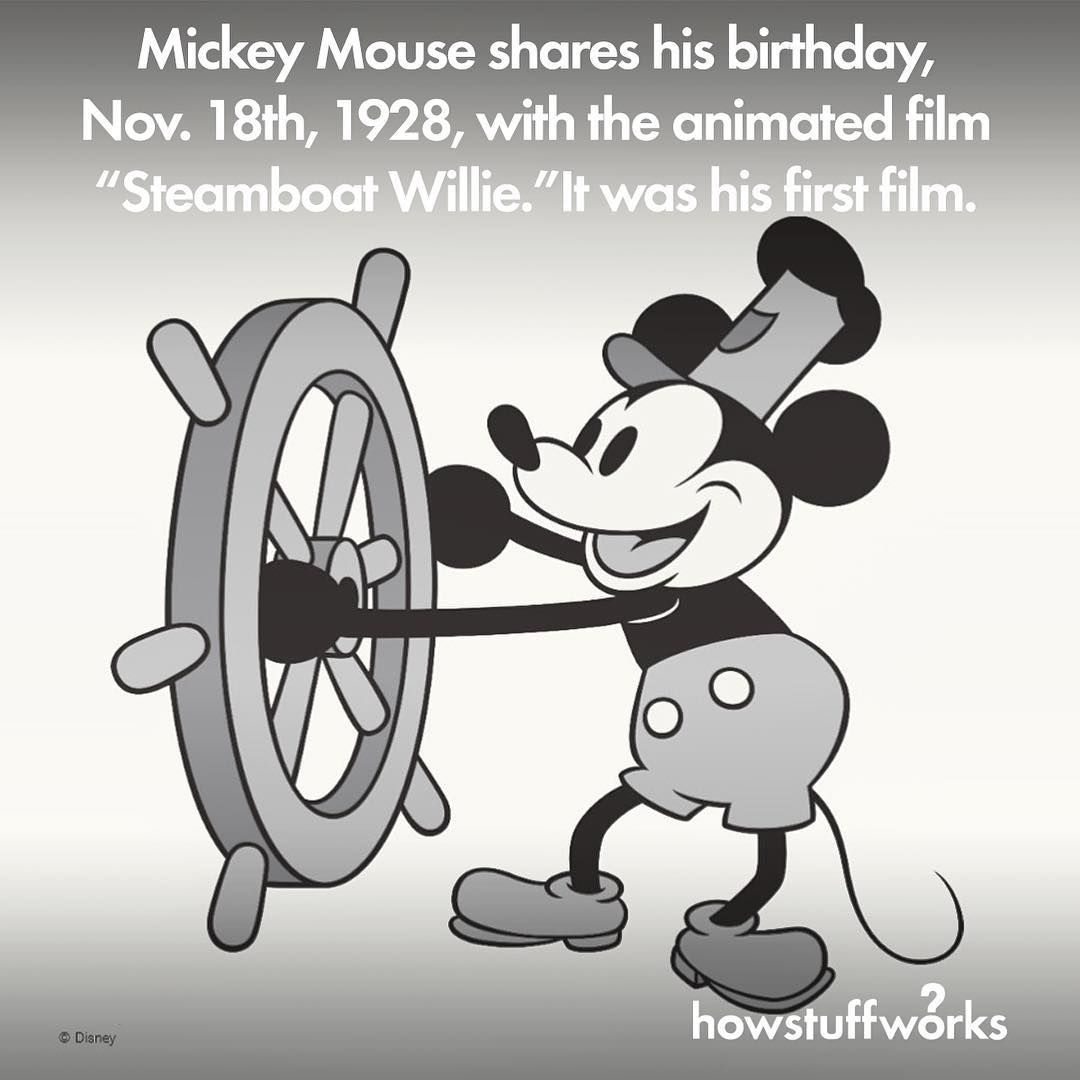 Disney's Mickey Mouse Shares His Birthday, November 18