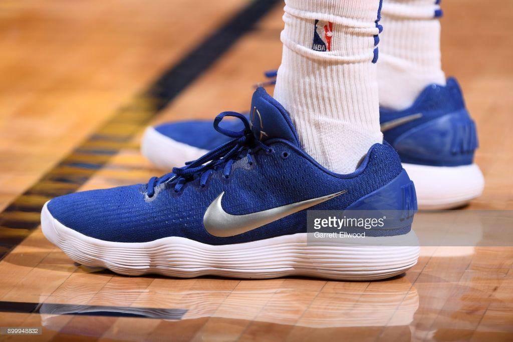 News Photo : Sneakers of Robert Covington of the Philadelphia.