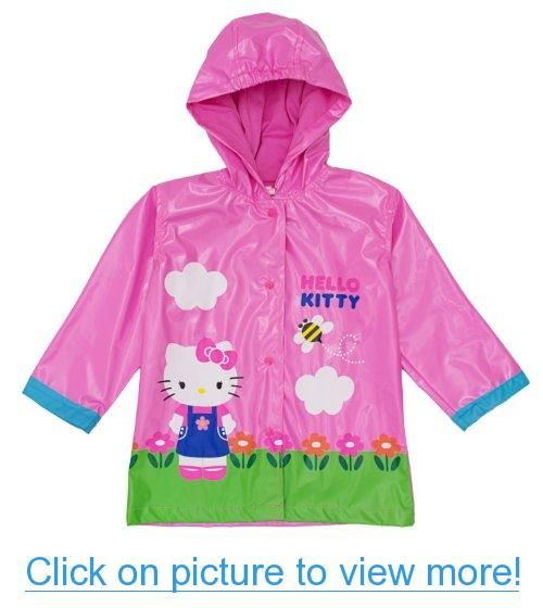 d40fd2a96 Sanrio Hello Kitty Girl's Pink Rain Coat - Sizes X-small 4/5 and Small 6/7