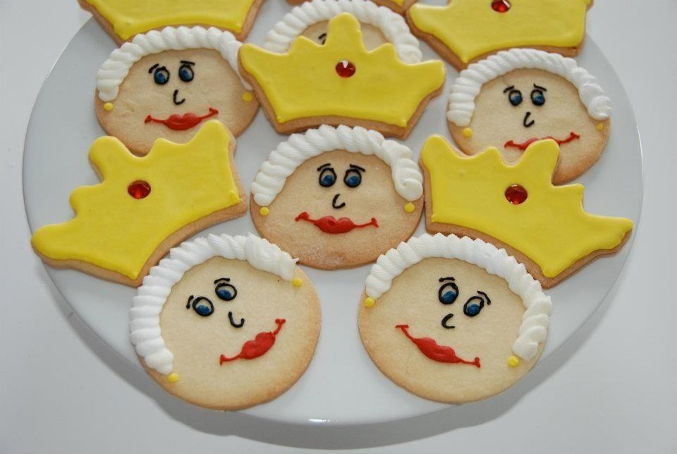 Cookies for the Queen's jubilee
