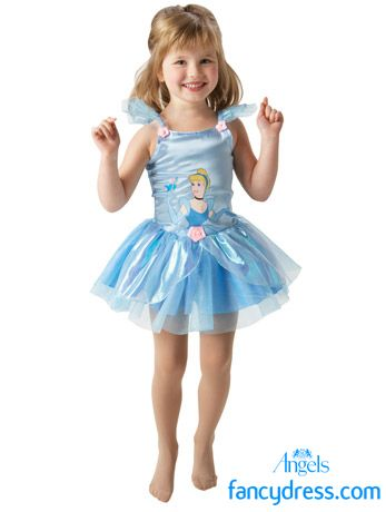 Your Child Can Become The Clic Disney Princess Cinderella With Our Ballerina Costume This Style Dress Is Perfect For