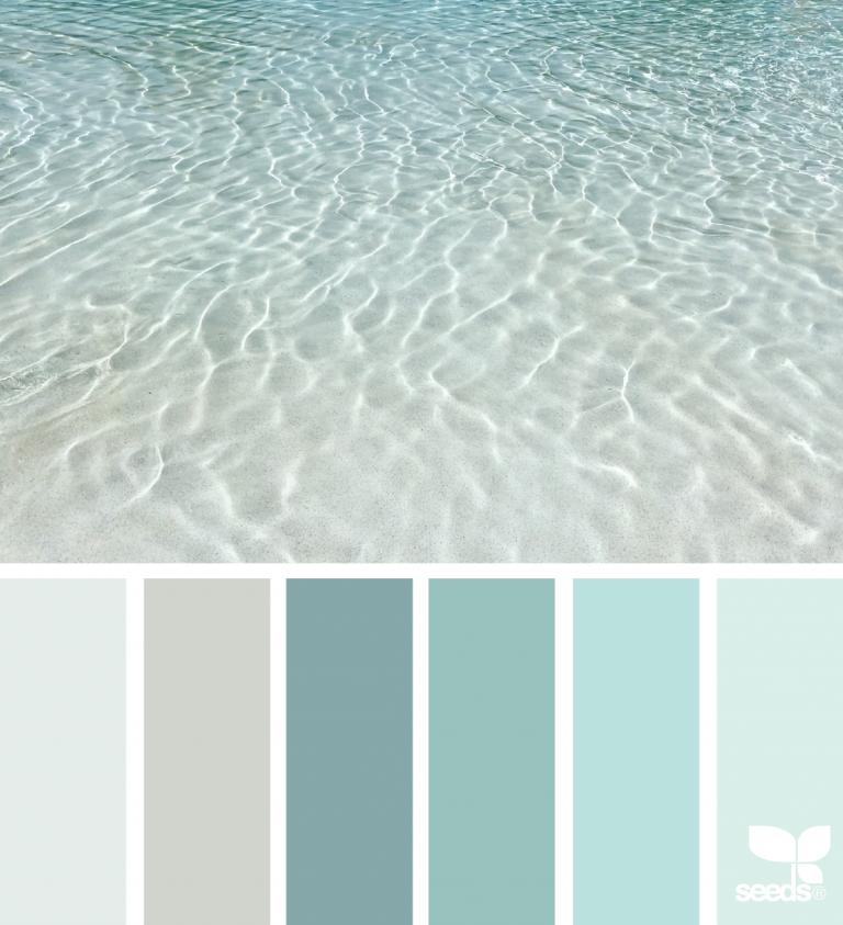 Color Sea Paint Colors For Home Beach Color Palettes House Colors