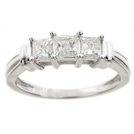 3//16 in. w// 0.026 Carat Brilliant Cut Diamonds size 9.5 wide 5mm 14k White Gold Mens Diamond Wedding Ring Band