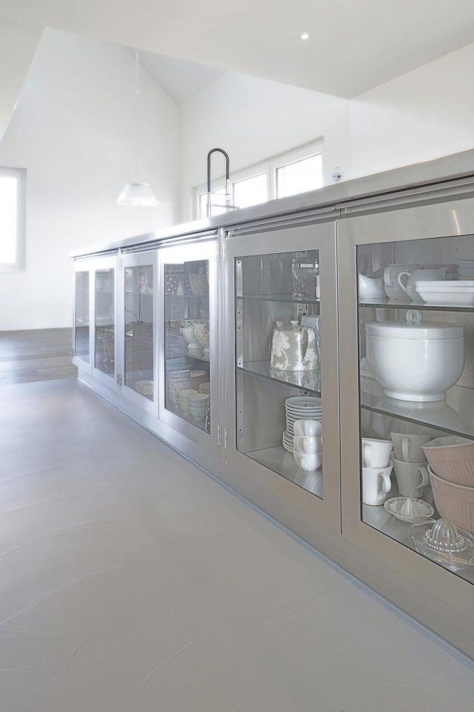 Schrank Edelstahl Design | Edelstahl Küchen Niederwiler