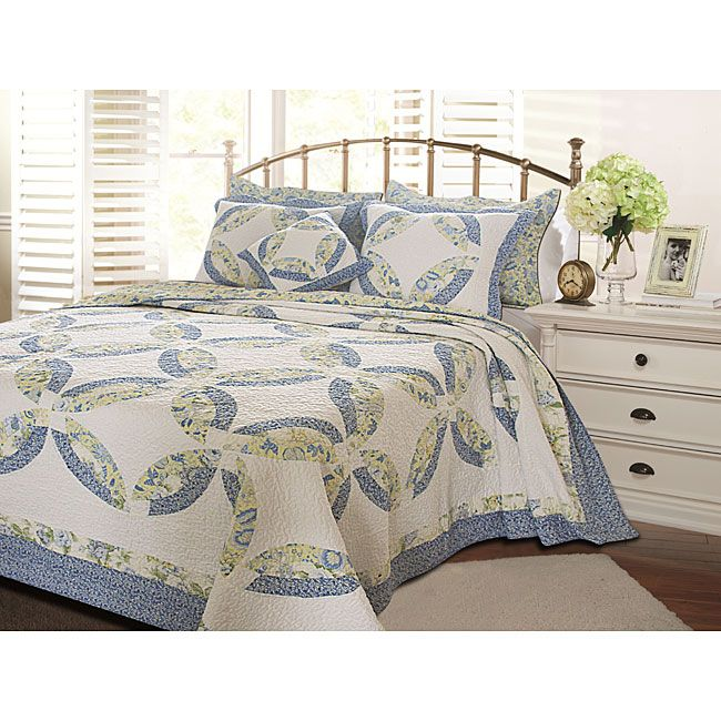 The Francesca Quilt Set By Greenland Home Updates The