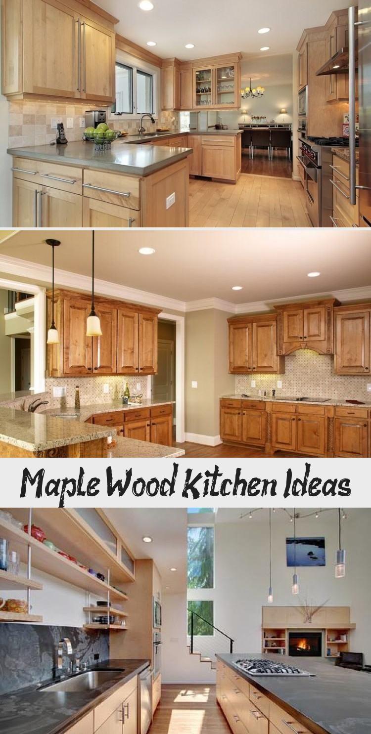 Maple Wood Kitchen Ideas Ktchn In 2020 Kitchen Remodel Design Wood Kitchen Maple Kitchen