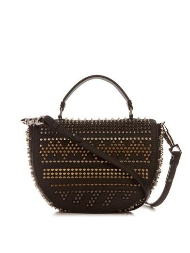 3b053a319ce Panettone studded messenger bag | Christian Louboutin | MATCHE ...
