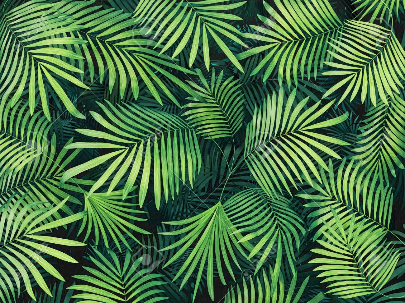 Green Tropical Leaves Background 3d Render Illustration Affiliate Leaves Tropical Green Ill Palm Trees Wallpaper Tropical Background Tree Wallpaper