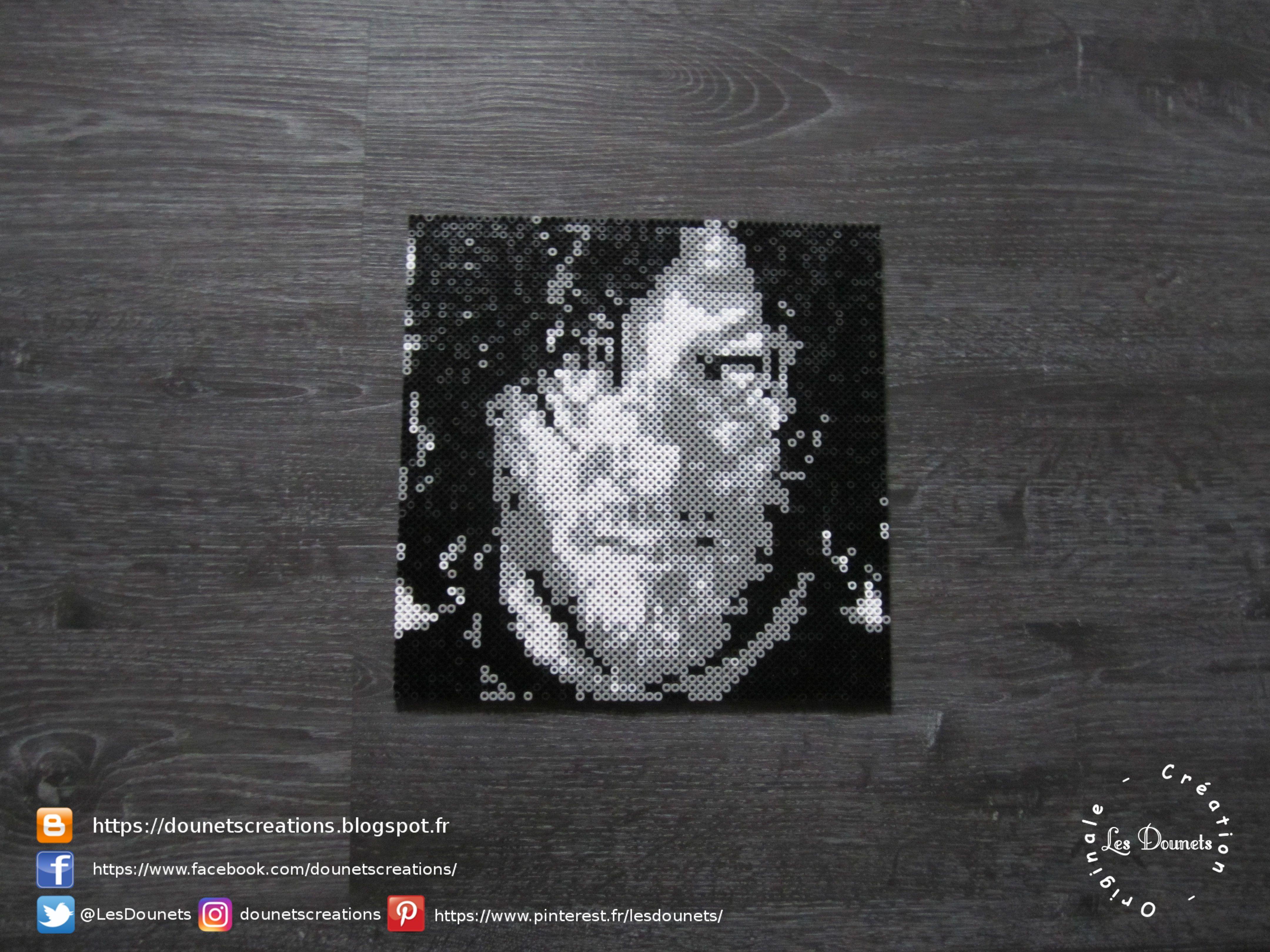 The Walking Dead Daryl Dixon Norman Reedus Dessin Petit Carreau Perle Perles Hama