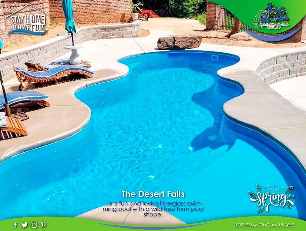 The Desert Falls San Juan Pools Pool San Juan Pools Inground Fiberglass Pools