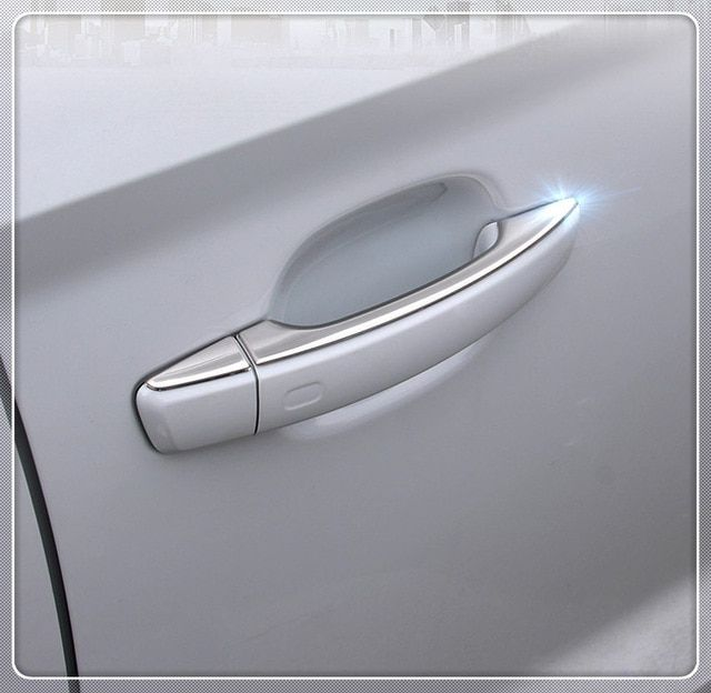 For Volvo XC60 XC90 S90 2018 Chrome Car Side Door Handle Cover Trim Accessories