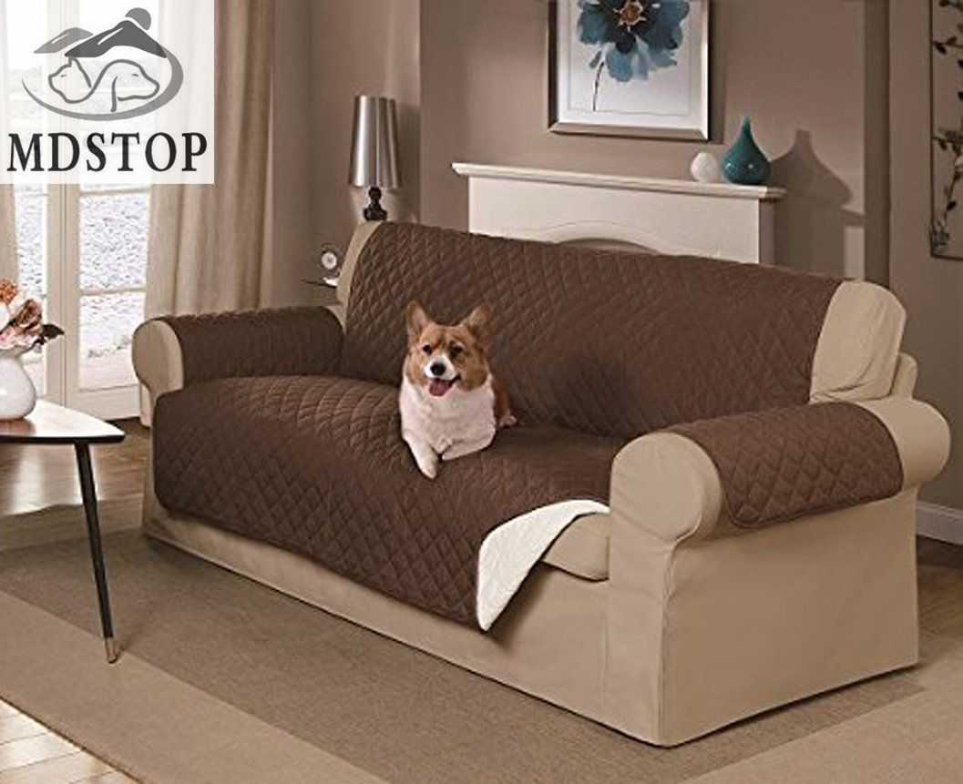Dog Double-seat SOFA Cover, Couch Protector For Dogs And Kids! Rever.
