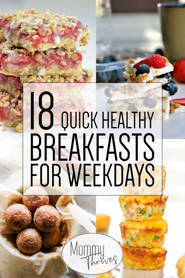 18 Quick Healthy Breakfast Recipes images