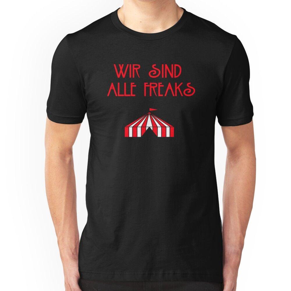 Wir Sind Alle Freaks Slim Fit T-Shirt