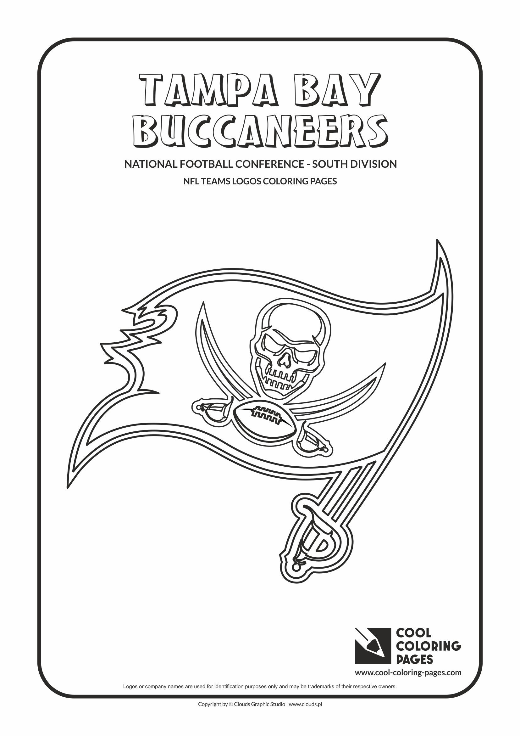 Cool Coloring Pages Nfl American Football Clubs Logos National Football Conference South Division Football Coloring Pages Nfl Logo Cool Coloring Pages
