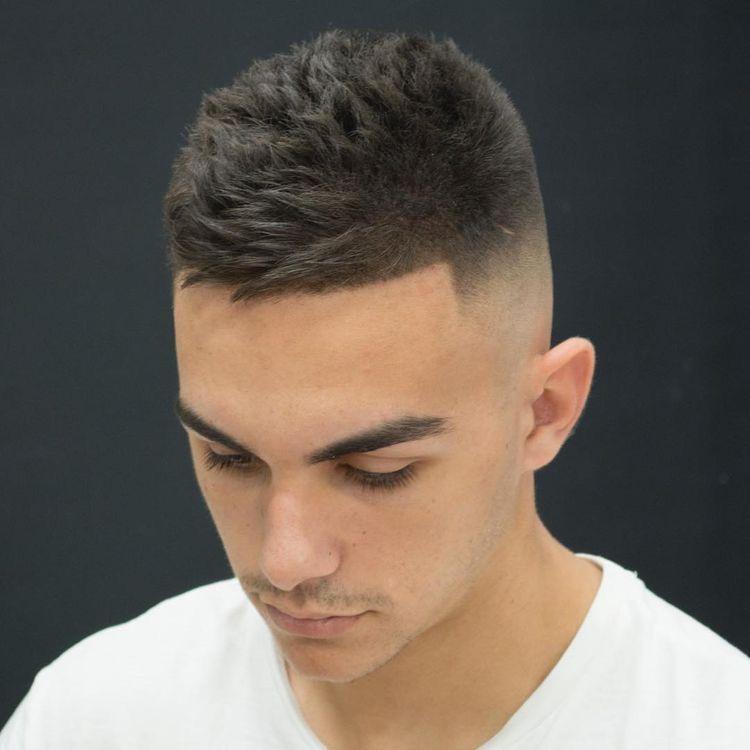 De última generación peinados chico degradado Imagen de cortes de pelo estilo - Pin en Peinado cabello corto hombre