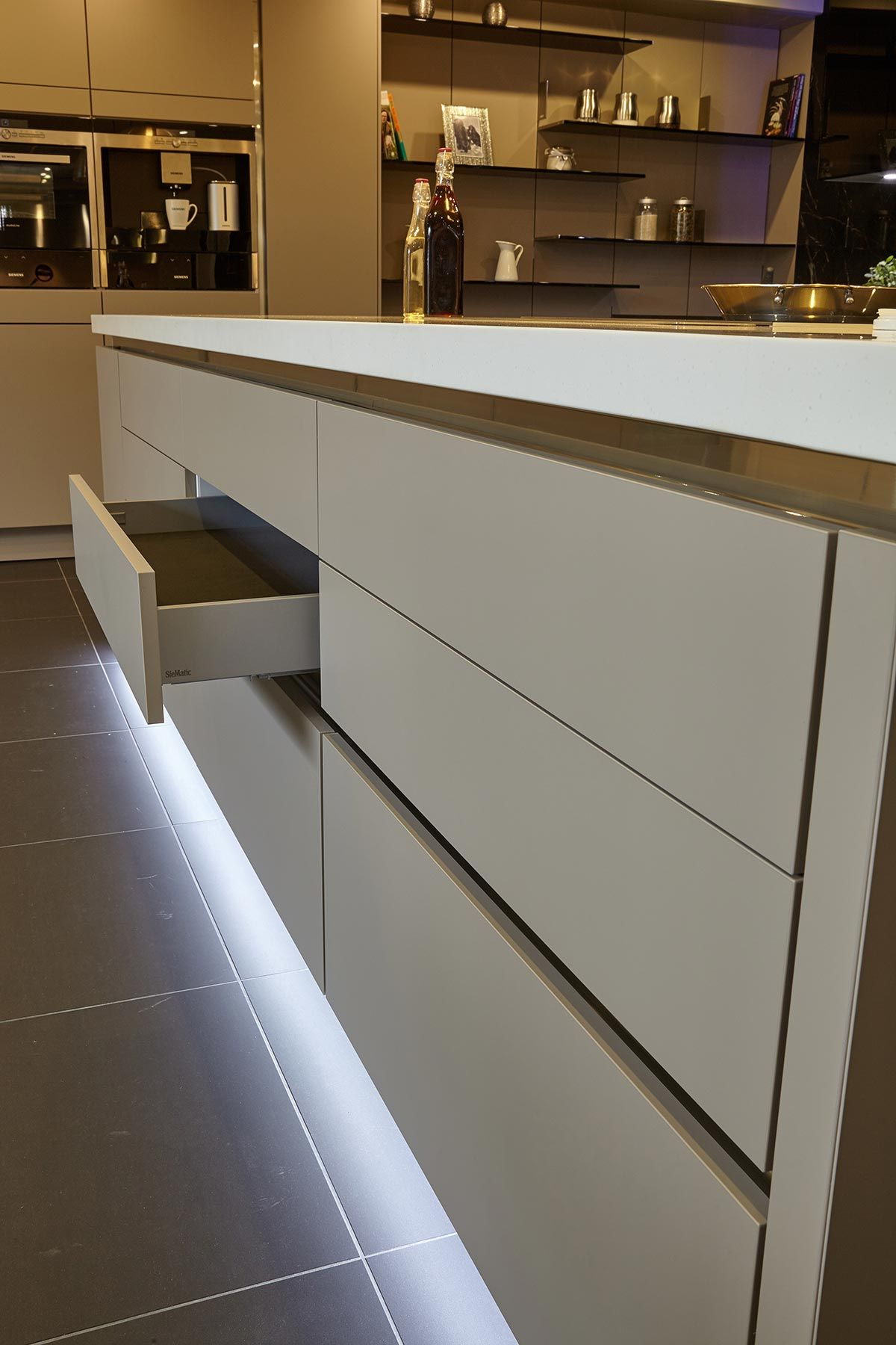 Soft closing Siematic door Spillers of Chard
