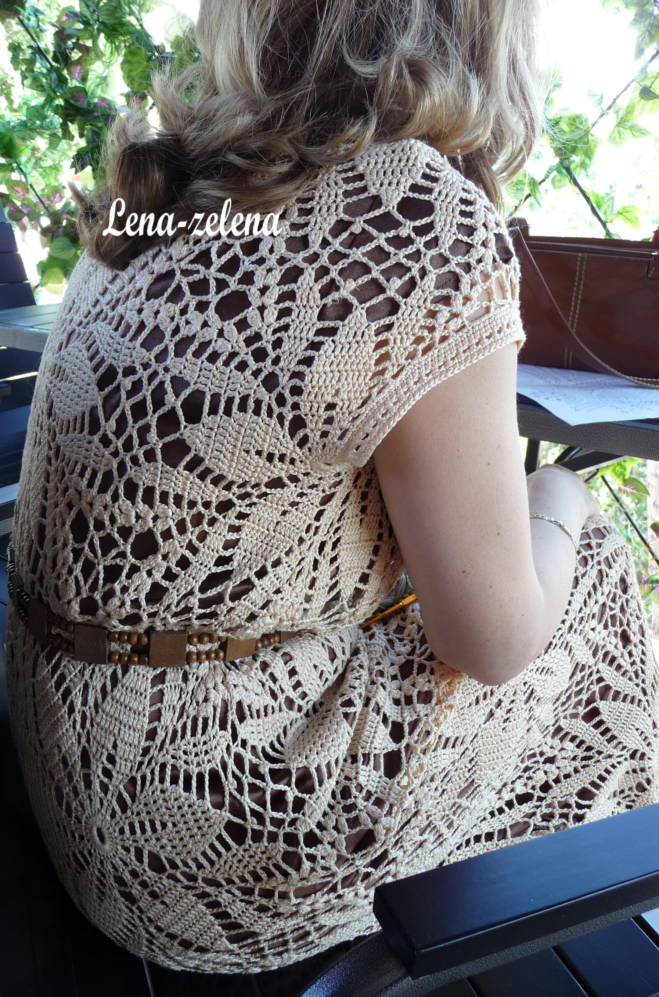 Motifs crochet dress by lena zelena on yandextki 1a crochet motifs crochet dress by lena zelena on yandextki fandeluxe Image collections