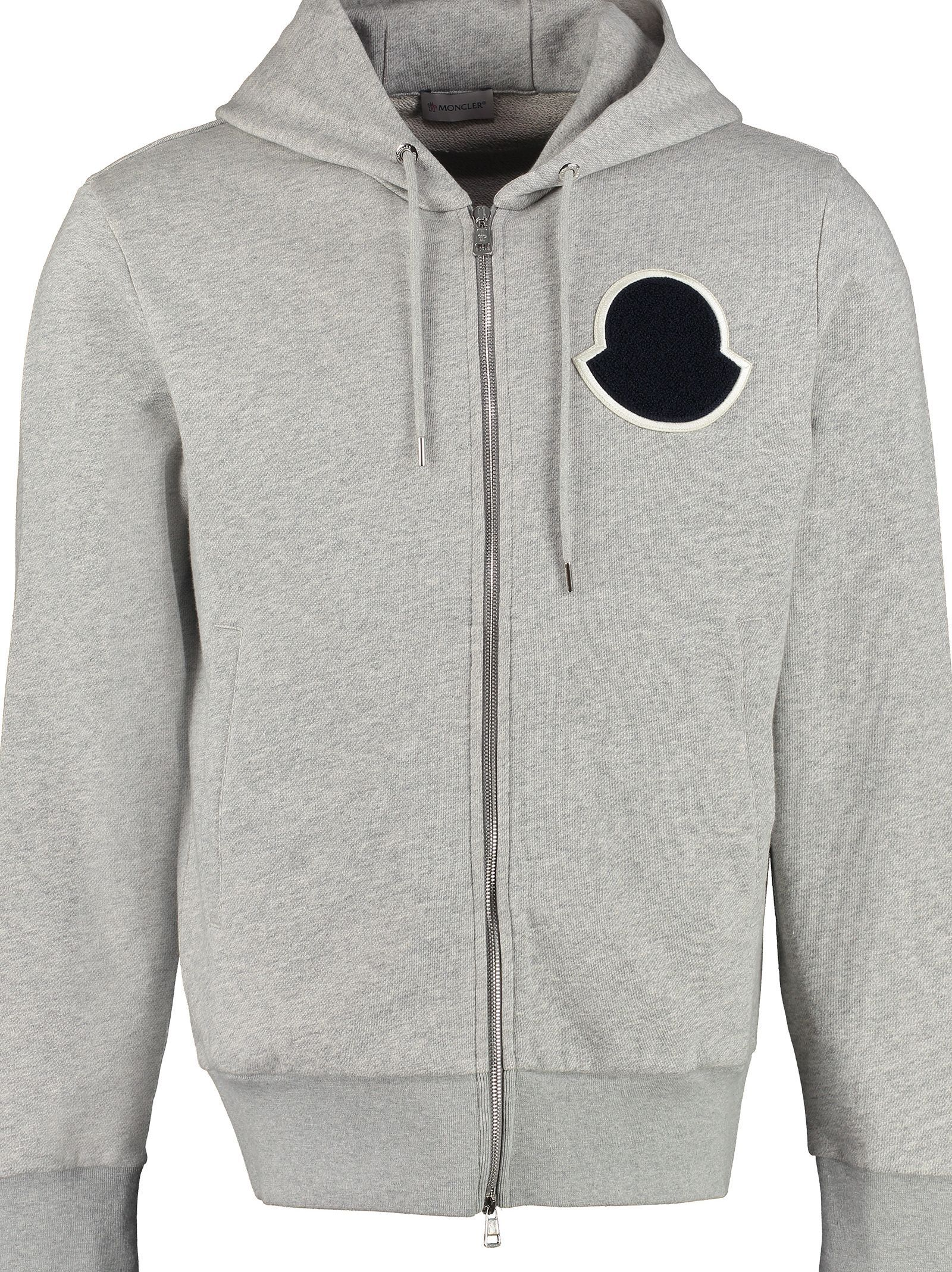6ea18b2c7 MONCLER COTTON HOODIE WITH LOGO. #moncler #cloth | Moncler in 2019 ...