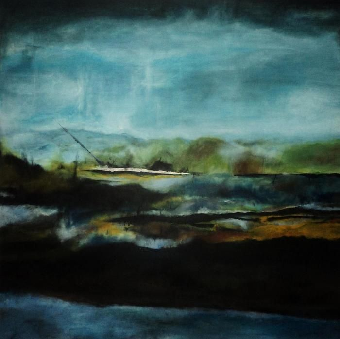 Pin By Gina Barkley On Art Pinterest Twilight Painting Art Abstract Painting